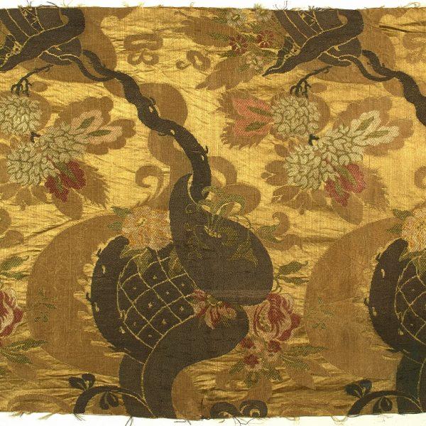 AS 2, damasco broccato, 1700 - 1710, Lione, Francia