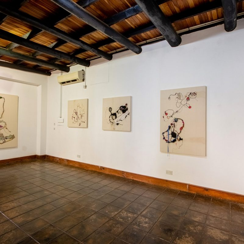 Breathing Time solo exhibition, Shamilla Aasha, First Floor Gallery Harare