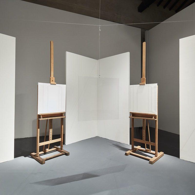Giulio Paolini, Opera Autentica, 2001 Installation view, Terme di Diocleziano, Roma, 2018 ph. Agostino Osio