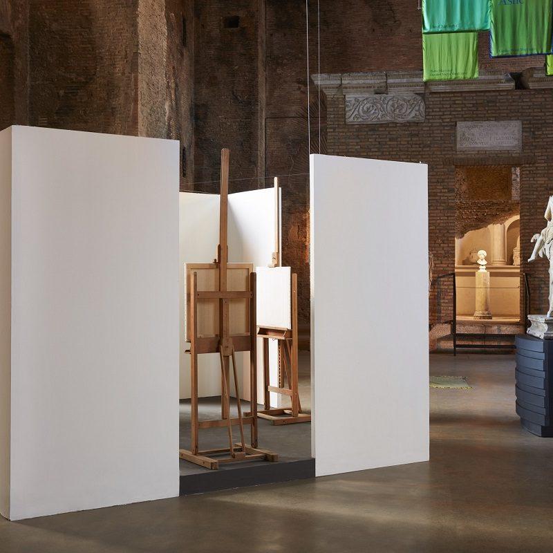 Giulio Paolini, Opera Autentica, 2001 Installation view, Palazzo Te, Mantova, 2017 ph. Agostino Osio