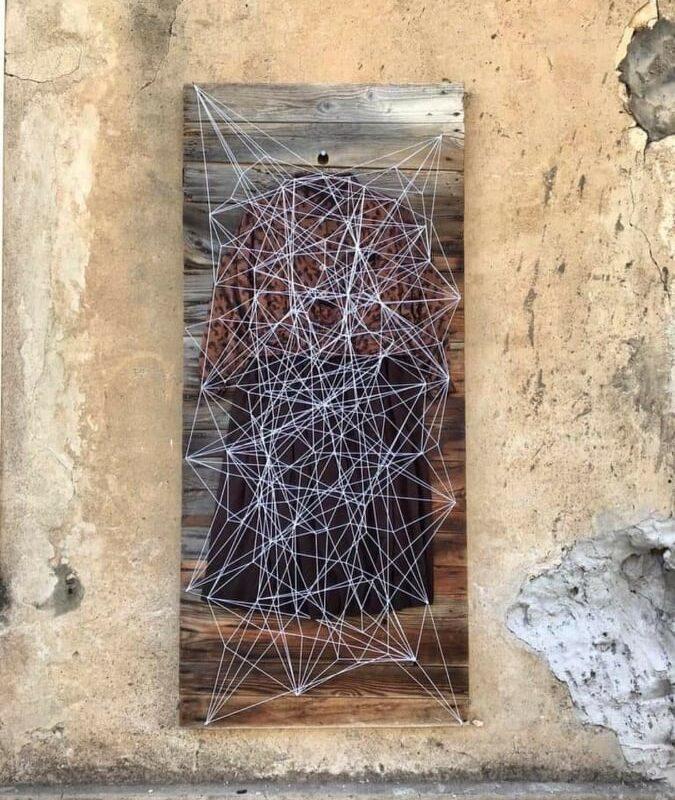 7. ANIMAS MAMMAI, Ritratto, 2018, cm.70x170